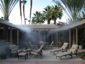 contractor misting systems