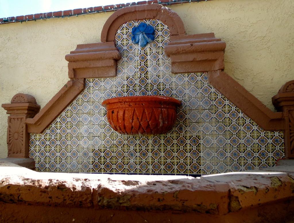 La Brasserie fountain