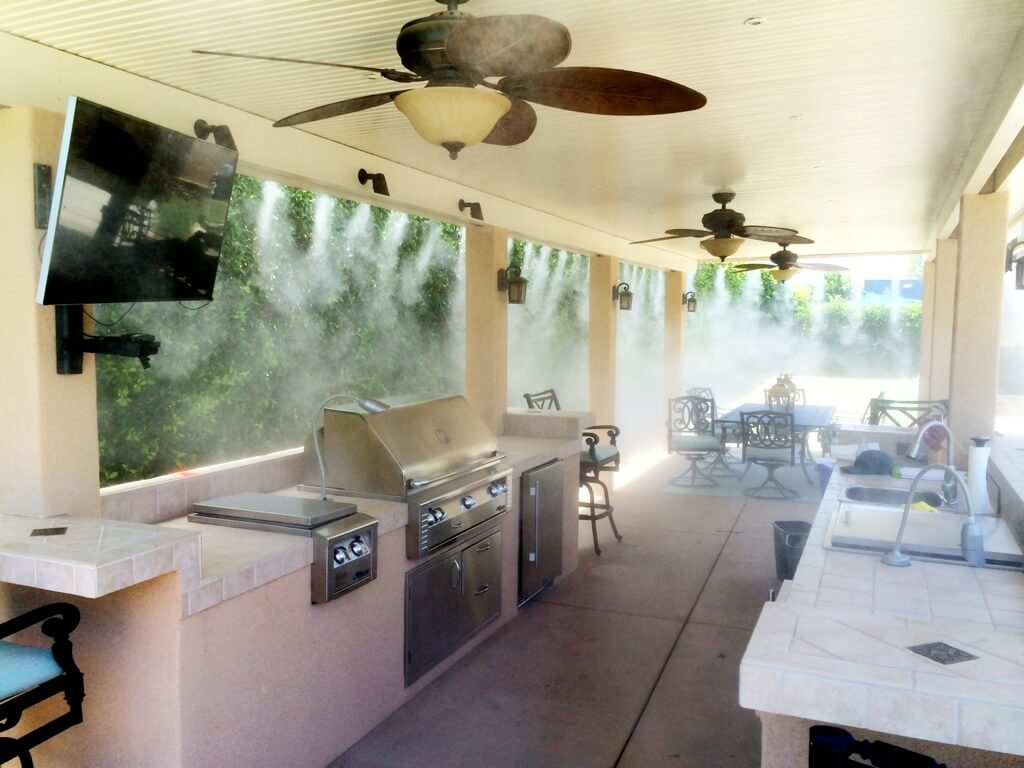 youtube misting misters patio system restaurant watch outdoor
