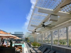 Kimpton Palm Springs Misting Systems