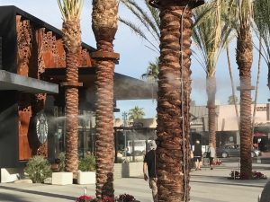 Starbucks Misting Systems Palm Springs