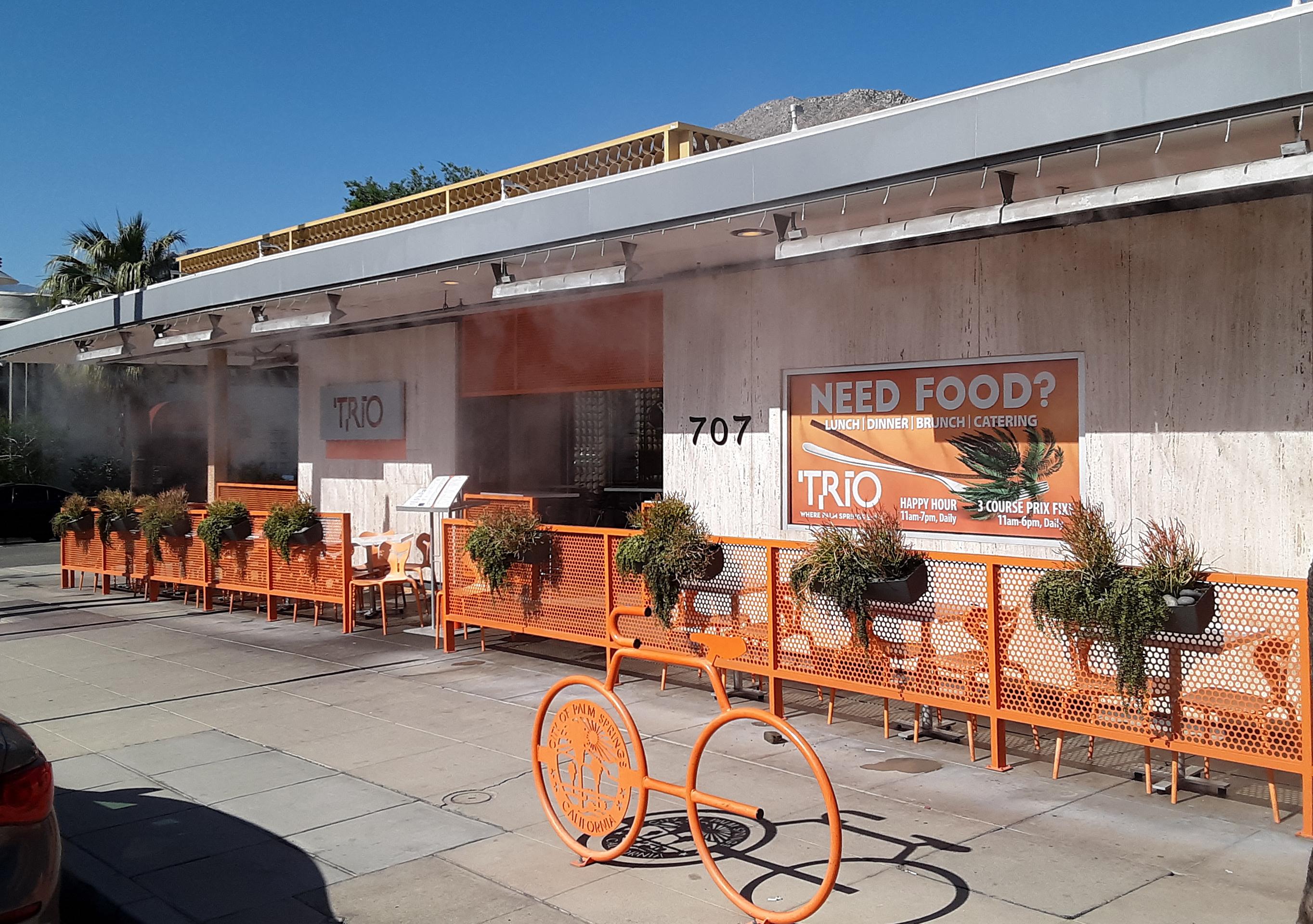 Trio Palm Springs Restaurant Week