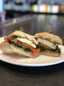 pesto sandwich kitchen 86
