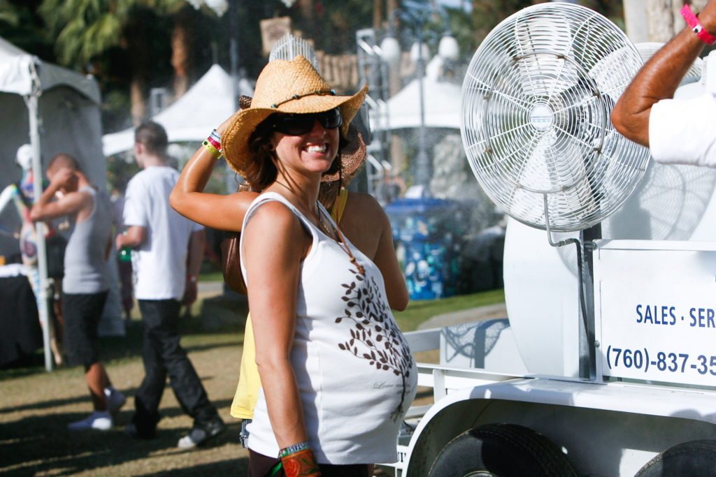 Event Misting Fan