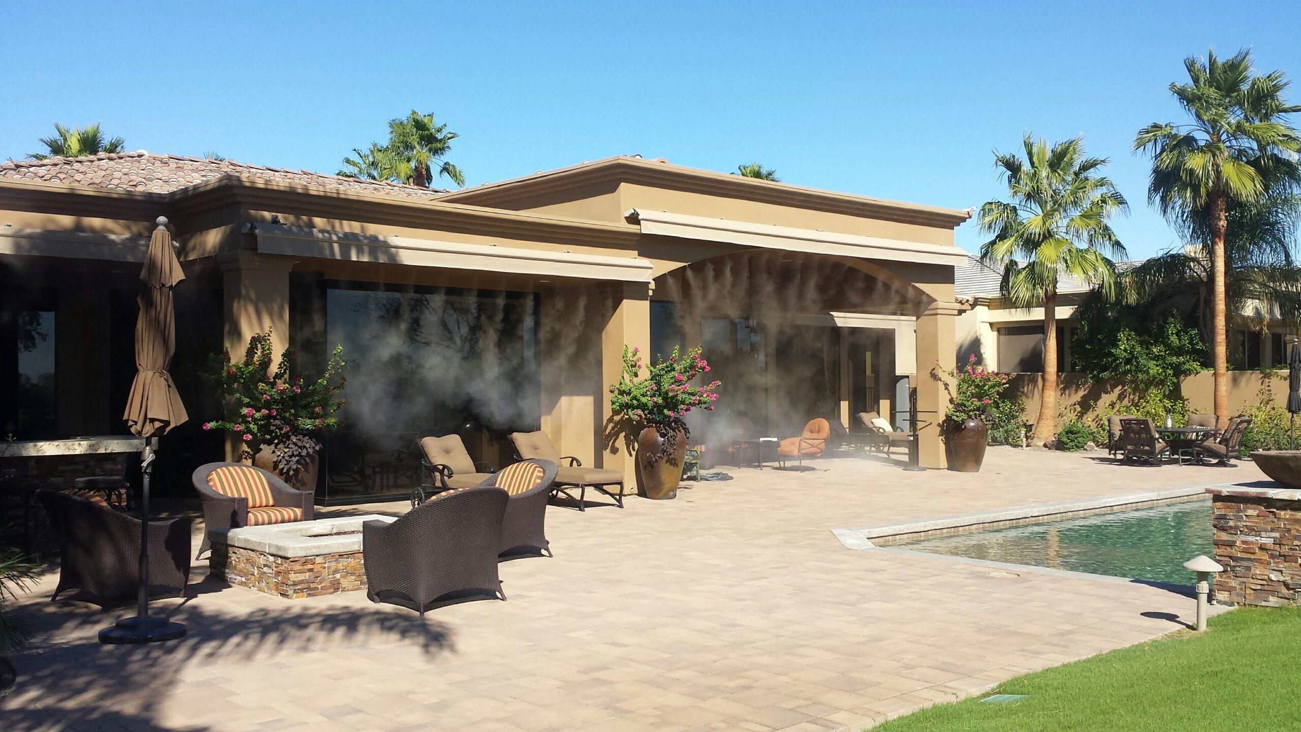 outdoor misting system palm desert